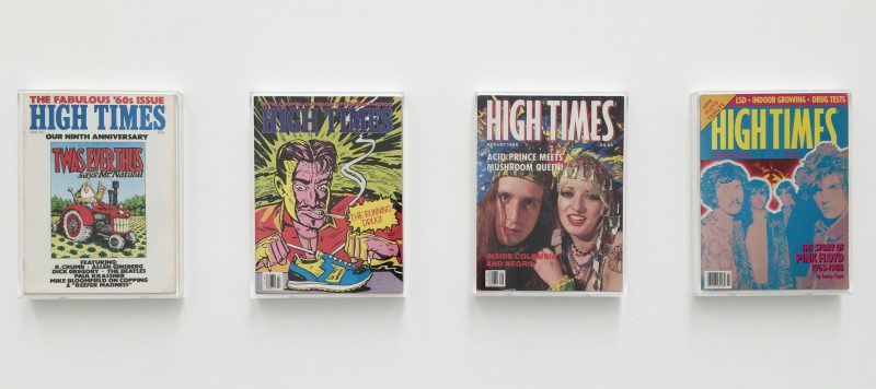 Installation view, HIGH TIMES, curated by Richard Prince at Blum & Poe, Los Angeles, 2016. Courtesy of Blum & Poe (Los Angeles/New York/Tokyo).