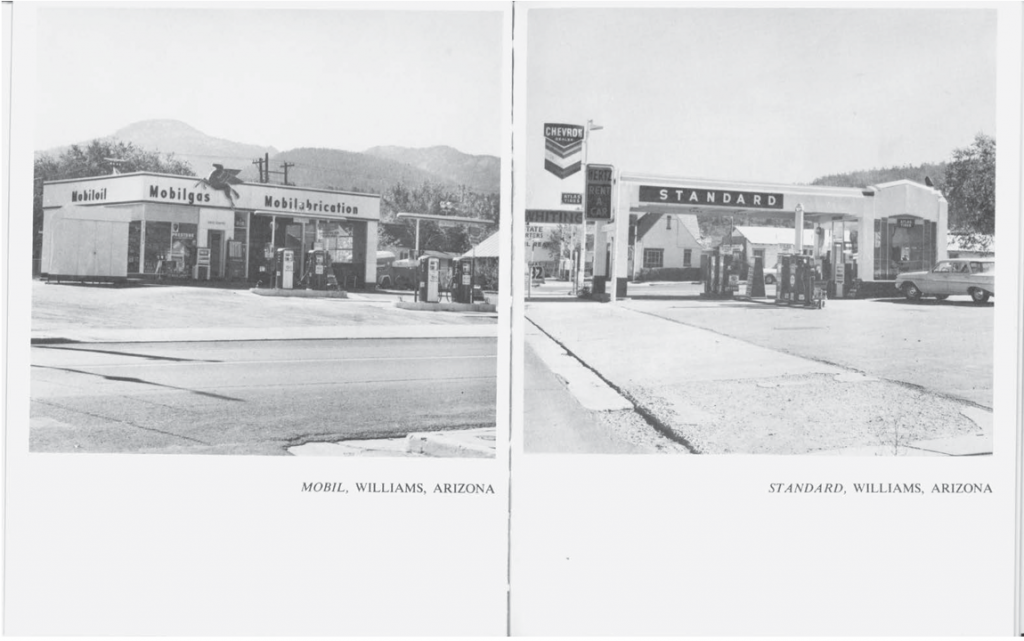 TWENTY SIX GASOLINE STATIONS, 1962. © Ed Ruscha. Courtesy of the artist and Gagosian Gallery.