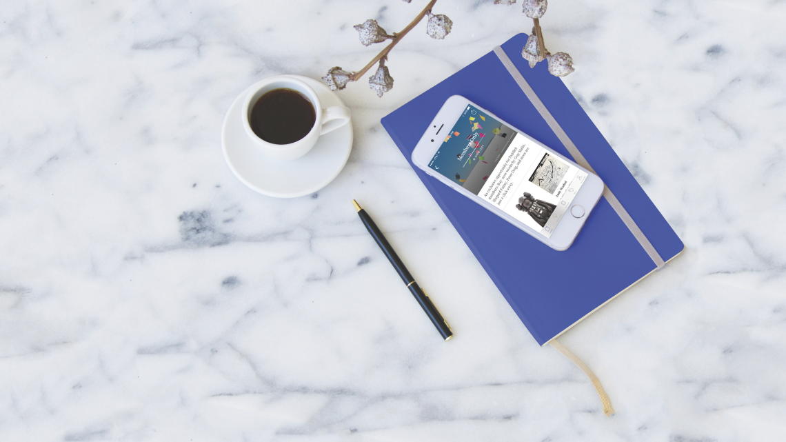 The Paddle8 app, which allows users to bid on and sell works of art and design. The app notifies users about newly available works, provides minute-to-minute alerts for active bids, calculates shipping costs, and more. Courtesy of Paddle8.