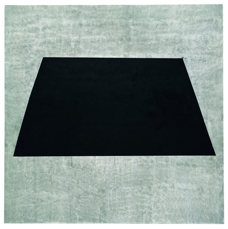 Agnes Martin, Homage to Life, 2003, acrylic and graphite on canvas, 60 × 60 inches, Leonard and Louise Riggio, © 2016 Agnes Martin/Artists Rights Society (ARS), New York, photo courtesy Pace Gallery