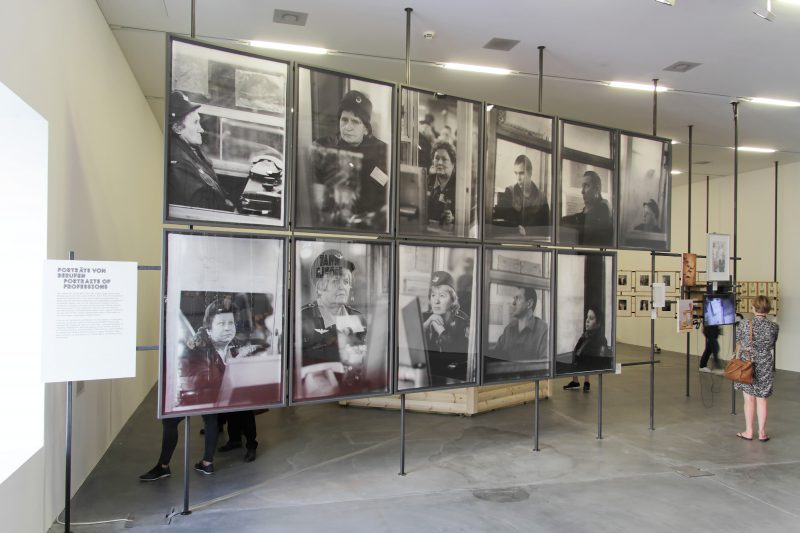 Installation view, Portraits of Professions. Manifesta 11. Image courtesy of Manifesta 11