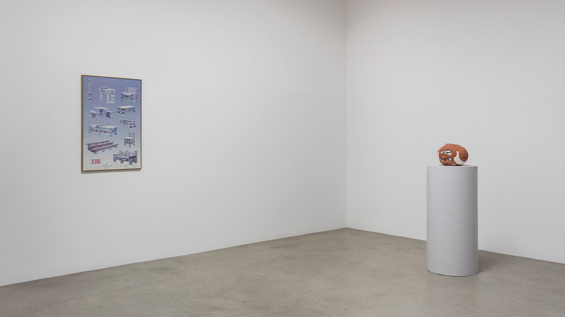Installation view, L.A. Relics, Ry Rocklen at Honor Fraser, Los Angeles, 2016. Courtesy of Honor Fraser. L.A. Relics is on view now through October 29.