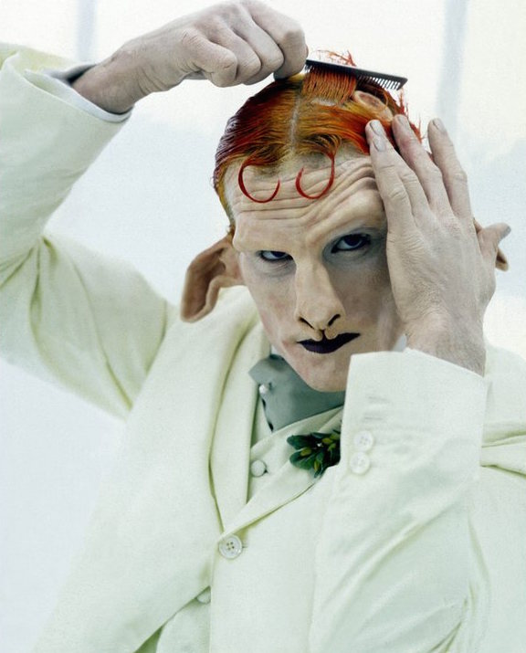 Matthew Barney as the Satyr in Cremaster 4 (42 minutes, 1994). © Matthew Barney. Courtesy of the Internet.