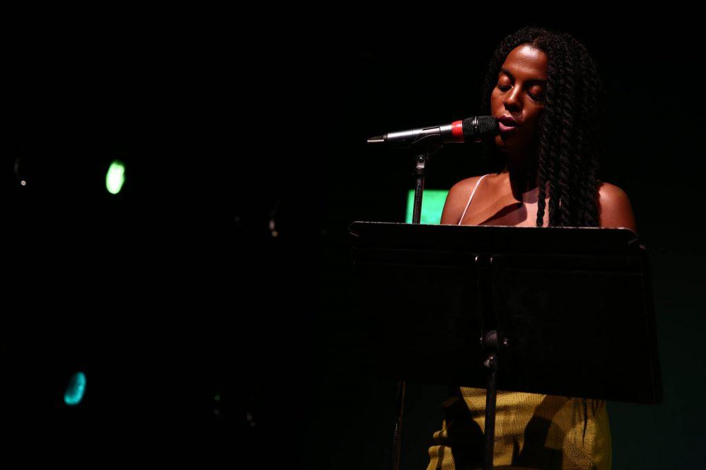 Emily Sundblad: Dichterliebe / Divine Bitches. September 16 – 17, 2016, The Kitchen, New York. Photo Credit: Paula Court