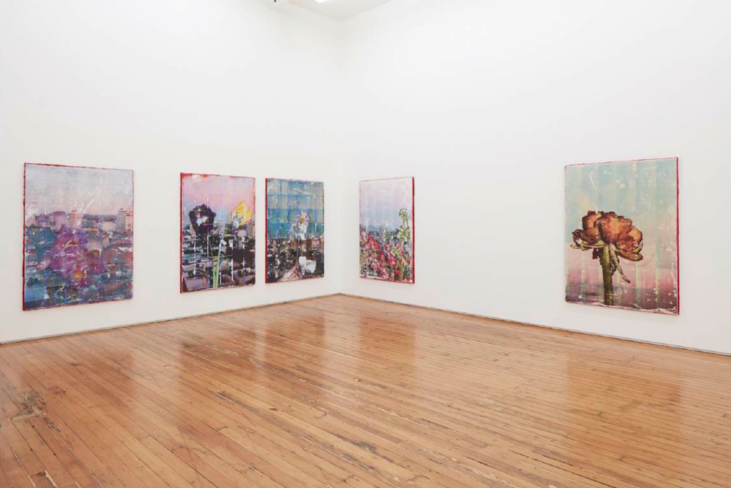Installation view, live from the capitol records b.– i am not a human i am a disgusting piece of shit, Parker Ito at Château Shatto, Los Angeles, 2016. Courtesy of Château Shatto.