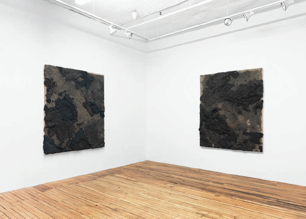 Installation view, Onnagata at Feuer/Mesler, New York, 2016. Courtesy of the artist.