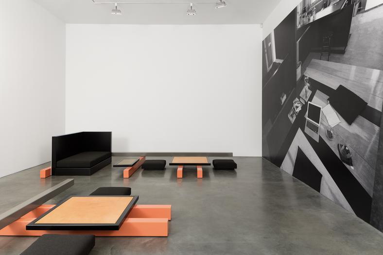 Installation view, Andrea Zittel, Andrea Rosen, September 9 - October 8, 2016. Courtesy of Andrea Rosen Gallery.