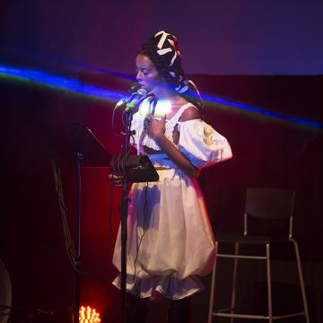 September 8, Juliana Huxtable will present a multimedia performance as part of the opening night events for TBA:16. Huxtable will also appear in conversation with Sampada Aranke at PICA on September 9 at 11:30 am.