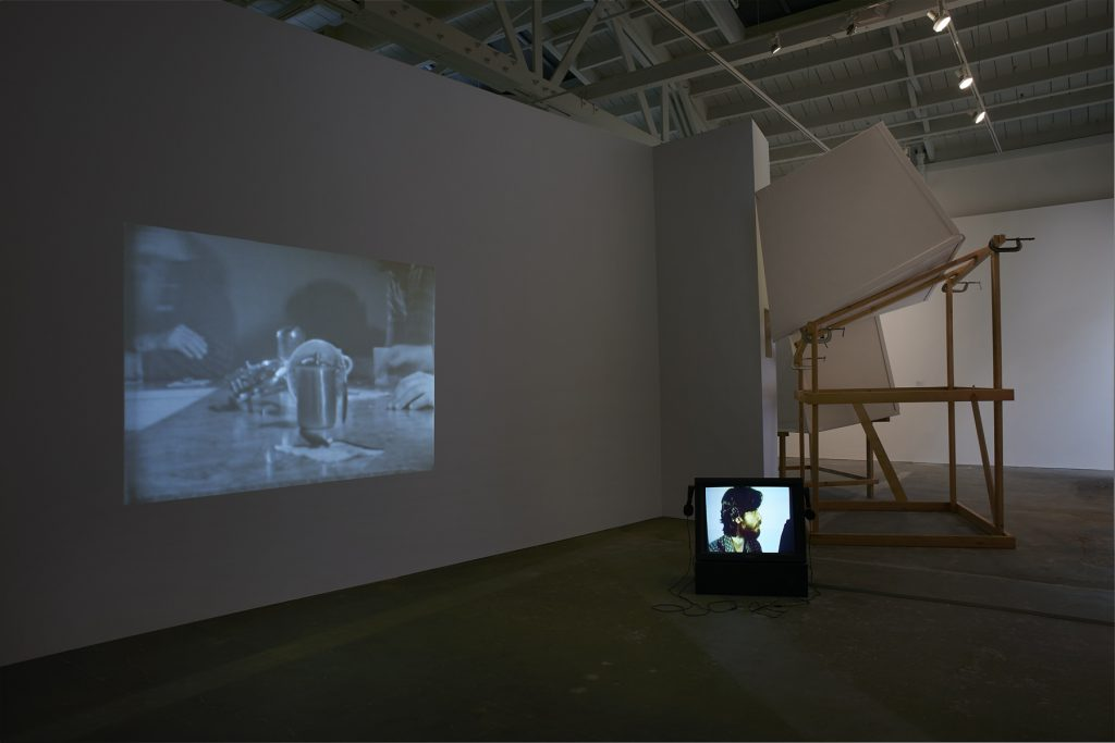 Installation view, Derelicts, Howard Fried at the Wattis Institute, San Francisco, 2016. Photograph by John White. Courtesy of the artist, The Box and the Wattis Institute.