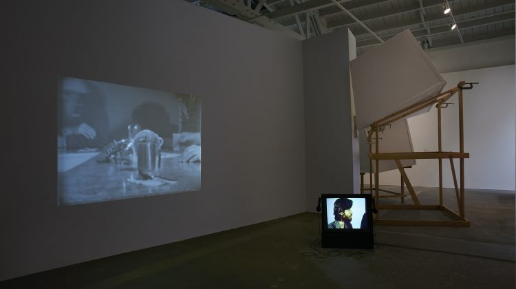 Installation view, Derelicts, Howard Fried at the Wattis Institute, 2016. Photograph by John White. Courtesy of the artist and The Box. The San Francisco Art Institute hosts a conversation between Howard Fried and  Tony Labat on October 25, from 7-8 pm.