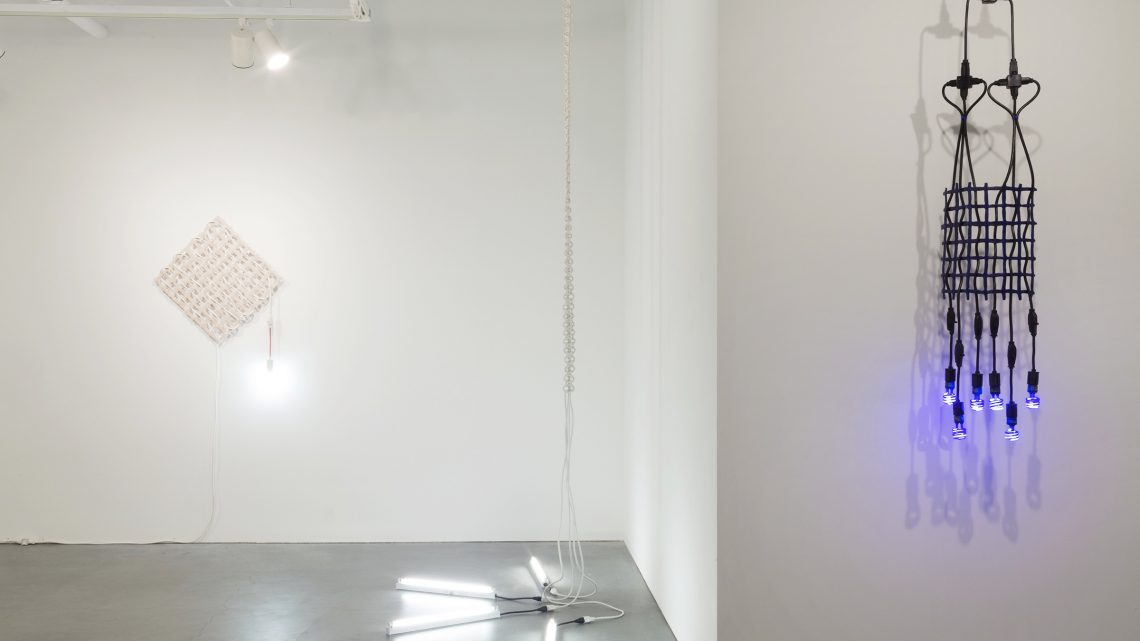 Dana Hemenway: All That Glows Sees, 2016; installation view, Eleanor Harwood Gallery. Courtesy of the artist and Eleanor Harwood Gallery, San Francisco.