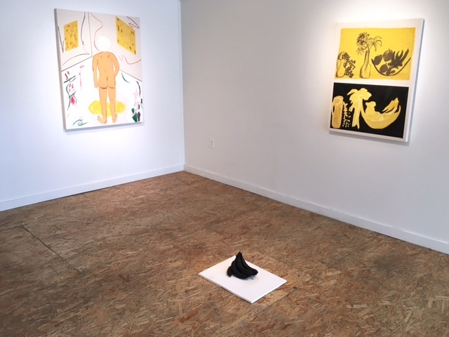 Micah Wood, installation view, Johansson Projects, 2016.