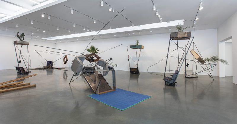 Abraham Cruzvillegas, (Installation view of Abraham Cruzvillegas,Autoconcanciónat Regen Projects, Los Angeles. September 17 -October 22, 2016. Photo: Brian Forrest. Courtesy Regen Projects, Los Angeles