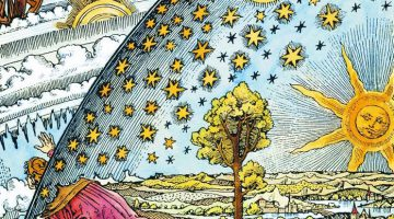 The Flammarion engraving, circa 1888.